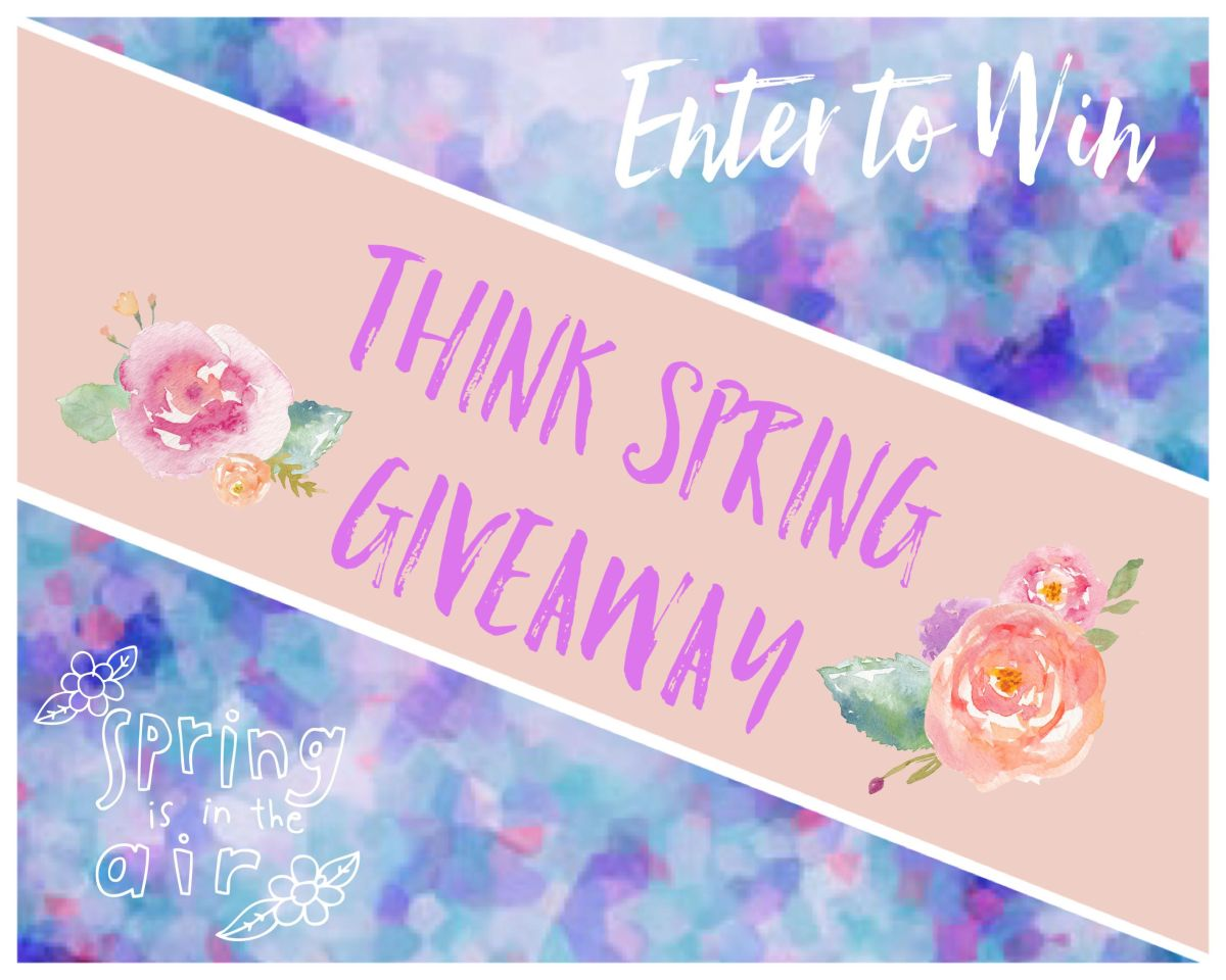 Think Spring Giveaway at KittenBoheme.com