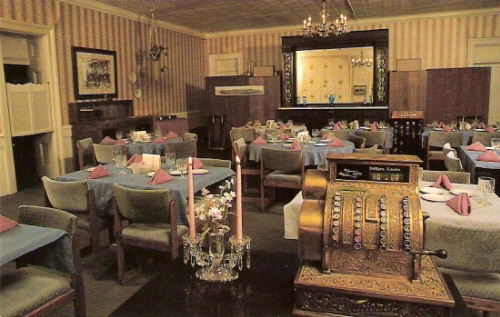 Dining Room St James Hotel Cimarron New Mexico