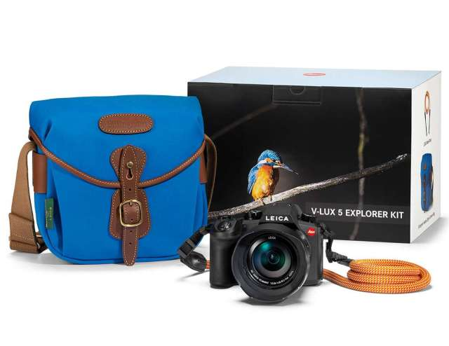 V-Lux 5 to home in on the little dickie birds, a bold COOPH strap and a new true-blue Hadley system bag. You'll cut a bold dash on the exploration train with this. And you could even become Wildlife Photographer of the Year 2021.