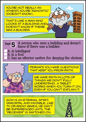 The Atheist Test Tracts