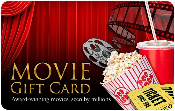Movie Gift Card Tracts