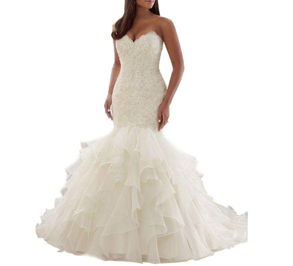 Mermaid Wedding Dress Amazon - Store.LoveVisaLife