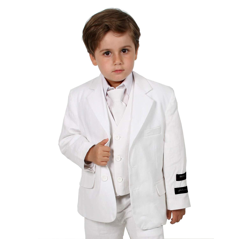 Johnnie Lene Black Tuxedo Set for Boys from Baby to Teen