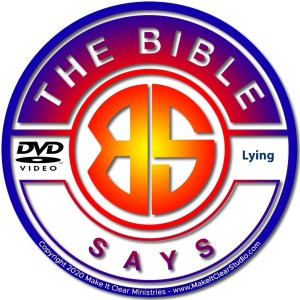 The Bible Says Lying
