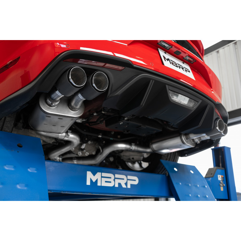 ford mustang gt 5 0l 3 cat back dual