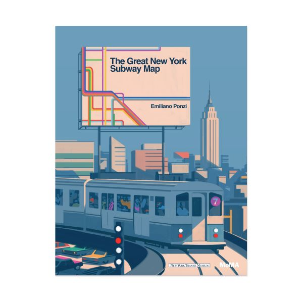 The Great New York Subway Map Book   MoMA Design Store The Great New York Subway Map Book in color