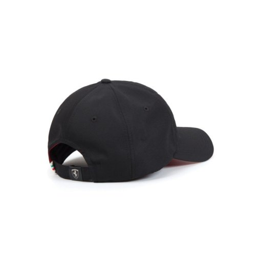 Cappellino Ferrari sportivo retro nero