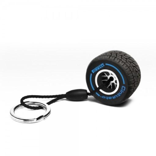 Portachiavi Pirelli Gomma Blu