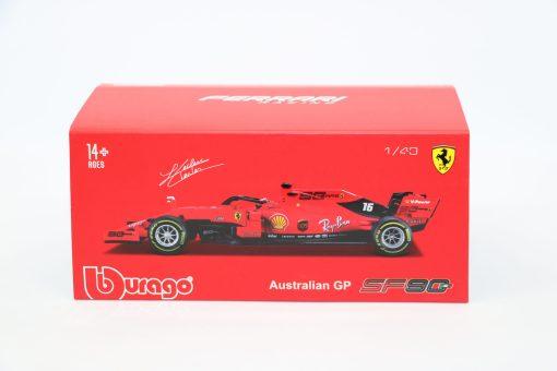 Bburago Signature Ferrari Charles Leclerc F1 SF90 Die cast 143 2019 4 scaled