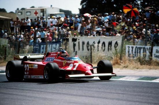 Gilles Villeneuve Jarama 1981 126CK