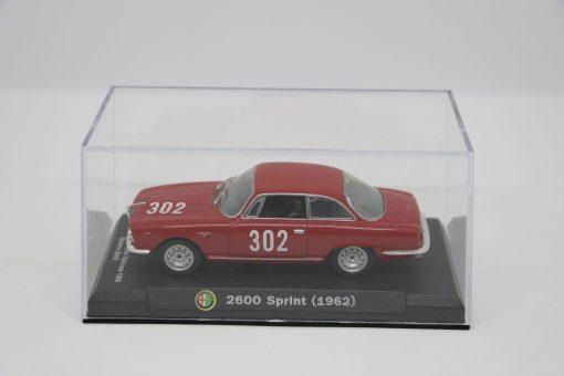 Alfa Romeo 143 2600 Sprint 1962 Bologna Passo della Raticosa 1968 3 scaled