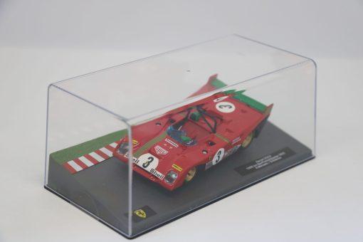 Altaya 143 Ferrari 312 P 1000km Spa Francorchamps 1972 A. Merzario 1 scaled