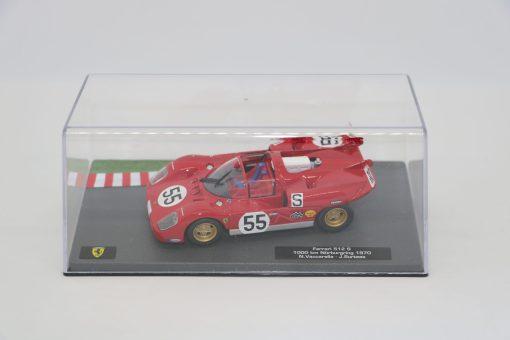 Altaya 143 Ferrari 512 S 1000 km Nurburgring 1970 N. Vaccarella 3 scaled