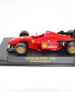 Die cast 143 F1 FERRARI F310 1996 Michael Shumacher scaled