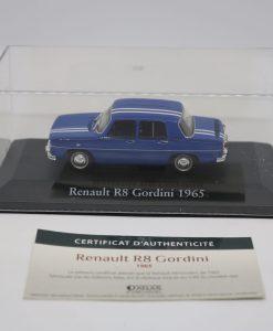 Die cast 143 Renault R8 Gordini 1965 1 scaled