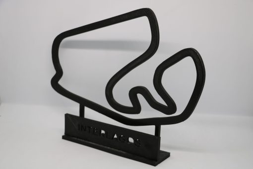 F1 Race track INTERLAGOS Brasil GP 24x20cm 3 scaled