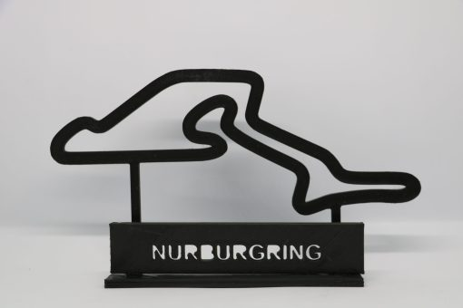 F1 Race track NURBURGRING GP Germania 23x14cm scaled