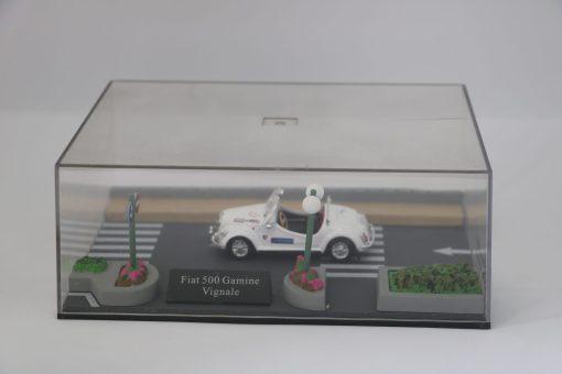Hachette 143 Fiat 500 Gamine Vignale 1DIORAMA scaled