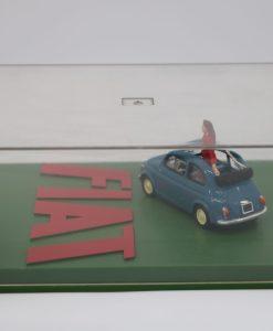 Hachette 143 Fiat Nuova 500 Eco DIORAMA 1 scaled