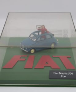 Hachette 143 Fiat Nuova 500 Eco DIORAMA 2 scaled