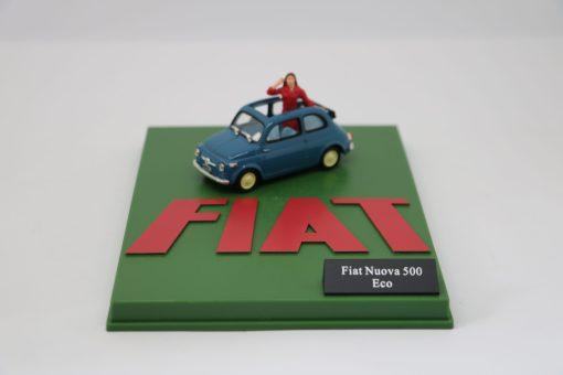 Hachette 143 Fiat Nuova 500 Eco DIORAMA scaled