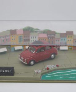 Hachette 143 Fiat Nuova 500 F DIORAMA 1 scaled