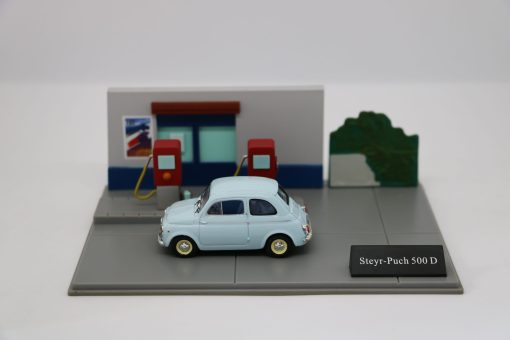 Hachette 143 Steyr Punch 500 D DIORAMA 1 scaled