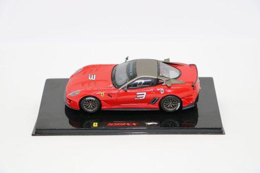 Hotwheels Elite 143 Ferrari 599XX Rosso corsa scaled