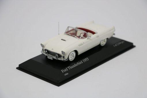 Minichamps 143 Ford Thunderbird 1955 white scaled