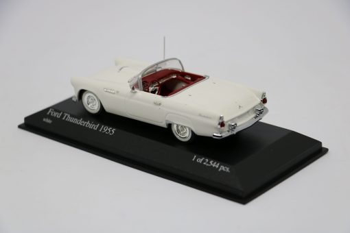 Minichamps 143 Ford Thunderbird 1955 white 2 scaled