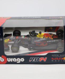 Bburago 143 RedBull F1 RB14 Max Verstappen 33 Die Cast scaled