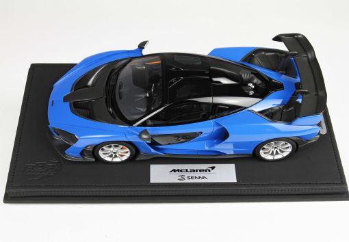 BBR 118 McLaren Senna 2018 Azura Blue 2