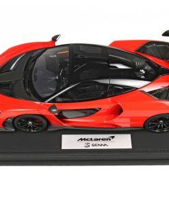 BBR 118 McLaren Senna 2018 Red Accent 2