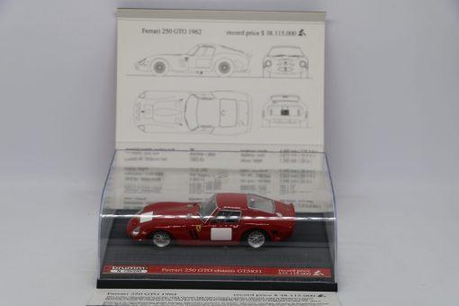 Brumm 143 Ferrari 250 GTO 1962 Record price Limited Ed. 250 pcs 2 scaled