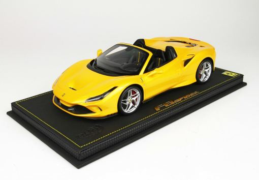 BBR 118 Ferrari F8 Tribute Spider Giallo Tristrato