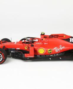 BBR 118 Ferrari SF90 GP Belgium Pole Position Leclerc 4