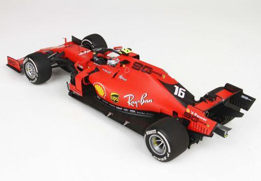 BBR 118 Ferrari SF90 GP Italy Monza 2019 Leclerc retro