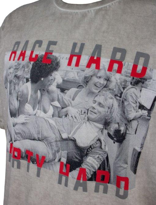 T Shirt Race Hard Party Hard James Hunt 2