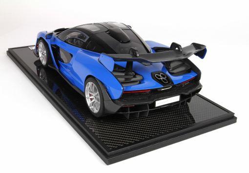 bbr 118 McLaren Senna Azura Blu retro