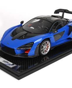bbr 118 McLaren Senna Azura Blu