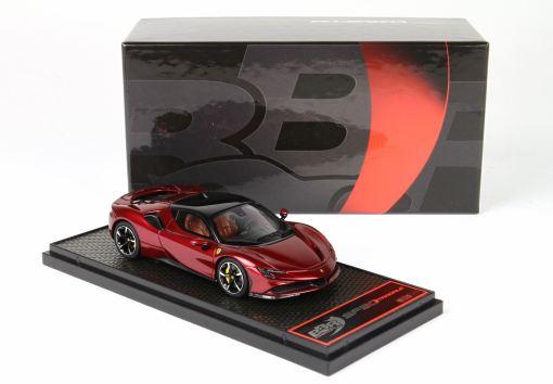 BBR 143 Ferrari SF90 Stradale Rosso Met FRONTE