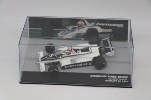 Altaya 143 Brabham Ford BT49C Nelson Piwuet 1981 N.5 Germany GP 3