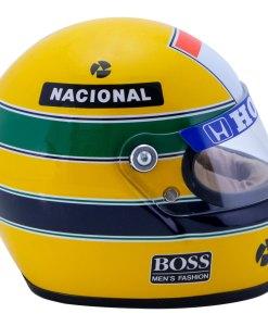 Mini Helmet Ayrton Senna Formula Uno 1988 McLaren scala 12 1