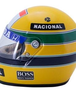 Mini Helmet Ayrton Senna Formula Uno 1988 McLaren scala 12 2
