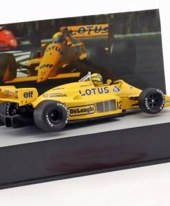 Modellino Altaya 143 Lotus 99T Ayrton Senna Monaco GP 1987 1