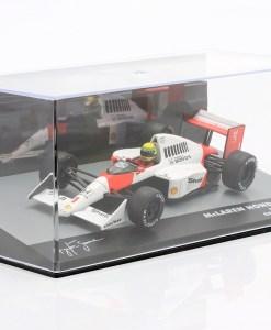 Modellino Altaya 143 McLaren Honda MP45 Ayrton Senna Germany GP 1989 6