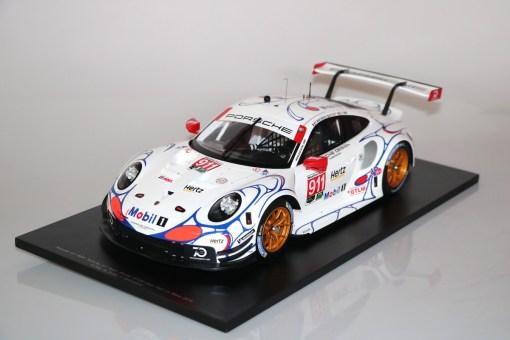 Modellino Spark 112 Porsche 911 RSR Winner GTLM class Petit 24h Le Mans 2018 1