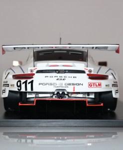 Modellino Spark 112 Porsche 911 RSR Winner GTLM class Petit 24h Le Mans 2018 r