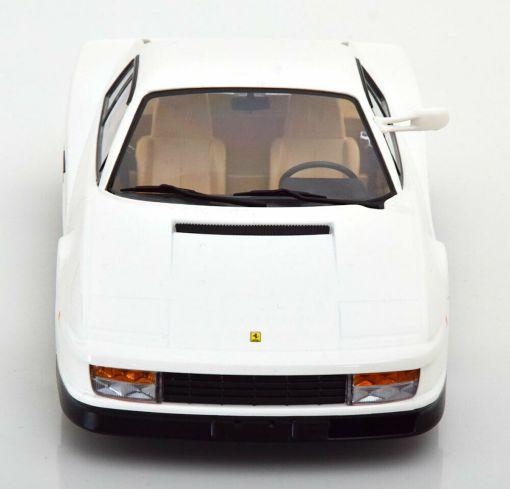 Modellino Ferrari 1 18 Testarossa Monospecchio KK bianco frontale