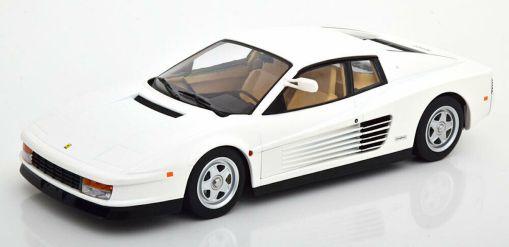 Modellino Ferrari 1 18 Testarossa Monospecchio KK bianco